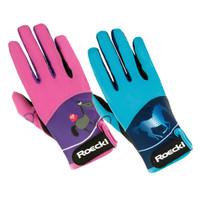 Roeckl Kids Kansas Riding Gloves, Youth Sizes 3 - 5
