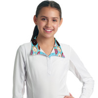 Romfh Kids Sarah Show Shirt,  White with Donuts , S - XL