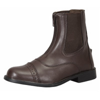 TuffRider Starter Lite Front Zip Paddock Boots, Childs Sizes 8 - 5