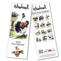 Thelwell Slim Wall 2020 Pony Calendar