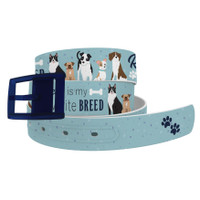 C4 'Rescue is My Favorite Breed' Belt and Navy Buckle