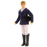 "Breyer Hunter Rider 8"" Figure, Ryan"