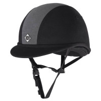 Charles Owen JR8 Helmet With Removable Liner, Black or Black/Charcoal