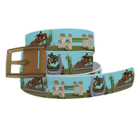 C4 Hunter Derby Belt and Khaki  Buckle