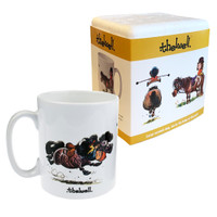 Thelwell 'Sitting Position' Mug in Box