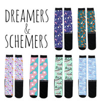 Dreamers & Schemers Boot Socks