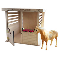 Model Horse Jumps Box Stall Barn, Just for Ponies