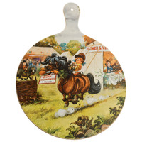 Thelwell 'Taken Many Firsts' Chopping/Cheese Board