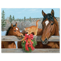 Lang 'Holiday Friends' Christmas Cards, Box of 18