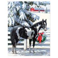 Lang 'Holiday Stables' Christmas Cards, Box of 18