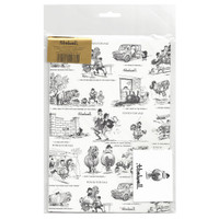 "Thelwell Ponies, ""Buying a Pony"",  Gift Wrap with Tags"