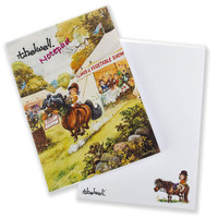 Thelwell Notepad With Thelwell Cartoon on Each Page