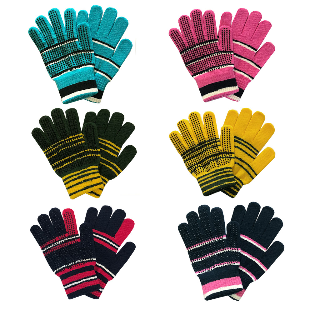 ALL SIZES AVAILABLE BITZ SYNTHETIC GLOVES ADULT NAVY
