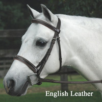Bobby's Signature Padded, REGULAR Crown, Fancy Bridle with Fancy Reins