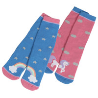 Shires Kids Socks, Unicorns or Rainbows