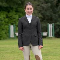 RJ Classics Hailey II Show Coat, Black, Sizes  4 - 16