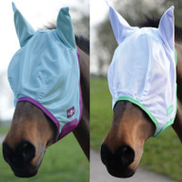 Saxon Mesh Fly Mask with Ears, Pony & Cob