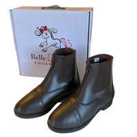 Belle & Bow Front Zip Paddock Boots, Little Kids Sizes 6 - 10