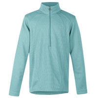 Kerrits Kids Chill Chaser Zip Neck, Iced Teal