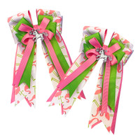 Belle & Bow Show Bows, Pink Flamingos