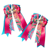 Belle & Bow Show Bows, Ocean Lilly