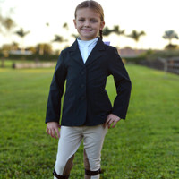 Belle & Bow Show Coat, Navy, Sizes 2 - 6 Years