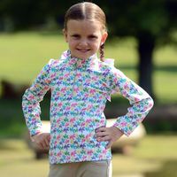 Belle & Bow Rainbelle, Long Sleeve Sun Shirt, Kids 2 - 10 Years
