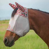 Cashel Crusader Fly Mask, Std with Ears, Palms Pattern, 4 Sizes