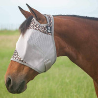 Cashel Crusader Fly Mask, No Ears, Leopard, 4 Sizes
