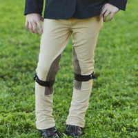 Belle & Bow Front Zip Jodhpurs, Sizes 2 - 10 Years