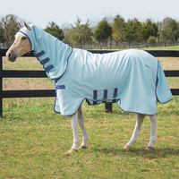 "Rambo Hoody Vamoose with No-Fly Zone, Baby Blue/Raspberry/Blue, 51"" - 63"""