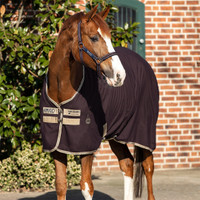 "Amigo Stable Sheet, Fig/Navy/Tan, 66"" & 69"""