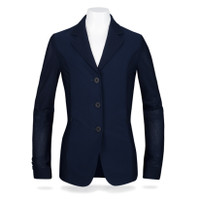 R J Classics Harmony Jr MESH Show Coat, Navy, Sizes 8 - 16