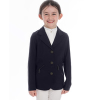 Horserware Kids Softshell Competition Show Coat, Dark Navy, Sizes 7 - 12 Years