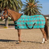 "Kensington Pony Fly Sheet With Crossed Surcingles, Black Ice, 51"" - 66"""