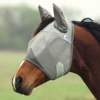 Cashel Crusader Fly Mask, Std with Ears, 4 Sizes