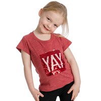 Horseware Kids Yay /Neigh Flip Sequin Tee