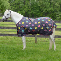 "Shires Tempest Original Turnout Rain Sheet, Donuts, 48"" - 69"""