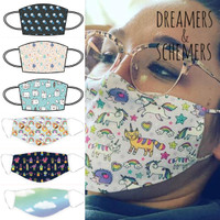 Dreamers & Schemers Face Masks, Small Child Size