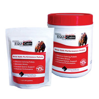 Equi+Calm Calming Performance Pellets, Two Container Sizes