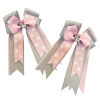 Belle & Bow Show Bows, Pink Annabelle