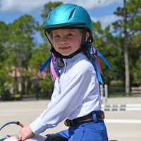 Ovation Metallic Schooler Helmet, Five Colors