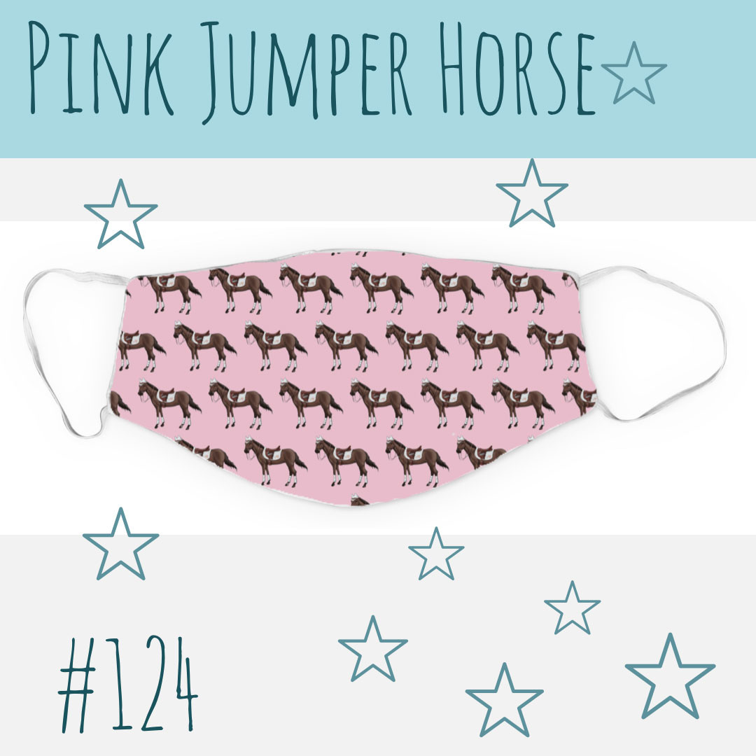 Pink Jumper Horse