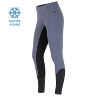 Kerrits Kids Sit Tight Windpro Kneepatch Breech, Blue Shadow