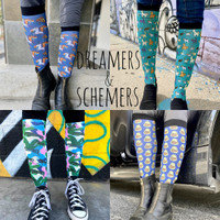 Dreamers & Schemers New Boot Socks, A Pair & a SPARE