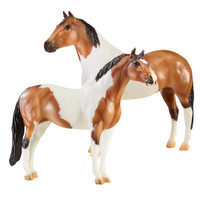 "Breyer  The"" Gangsters"", Tony da Pony & Bugsy Maloney Gift Set"