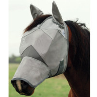 Cashel Crusader Fly Mask Long with Ears - 4 Sizes