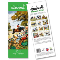 Thelwell 2021 Pony Calendar, Slim Wall Style
