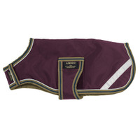 Horseware Amigo Waterproof Dog Blanket, Fig/Navy/Tan