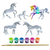 Breyer Stablemates Unicorn Suncatcher Painting Kit